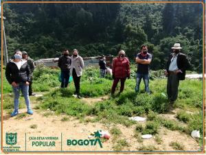 Nuevos Afectos Nuevos Territorios - localidad de San Cristóbal, sector Alto Fucha barrio Los Laureles