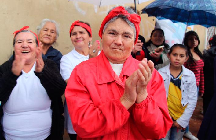 CVP entrega nuevos andenes y vías peatonales que impactan a 1.000 habitantes de Usaquén