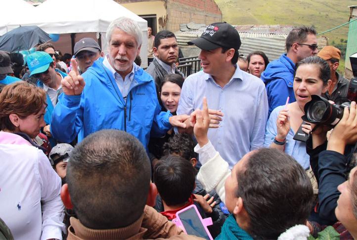 Infraestructura urbana y bienestar para  los habitantes del barrio Caracolí de Ciudad Bolívar