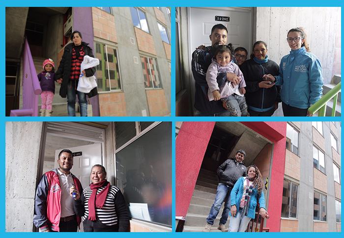 250 hogares tienen vivienda propia y segura en Bogotá