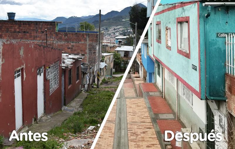 Mejoramiento de Barrios, localidad San Cristóbal
