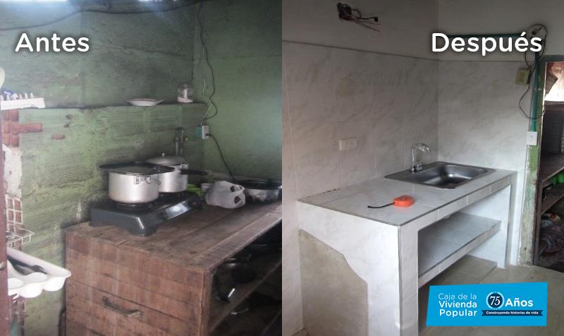 937 hogares ya viven en mejores condiciones en Ciudad Bolívar