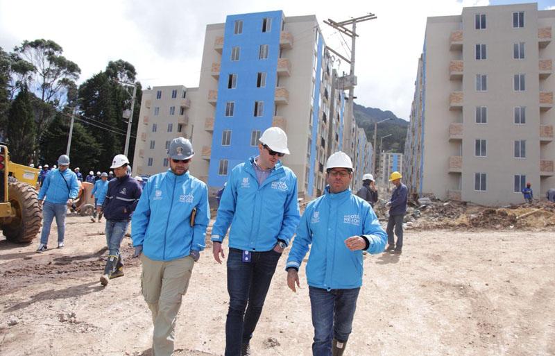 Avanza el proyecto de vivienda VIP más importante de Bogotá