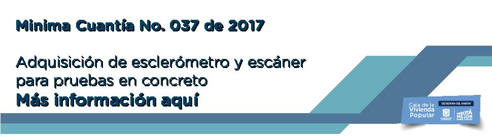 Minima cuantia No 37 2017