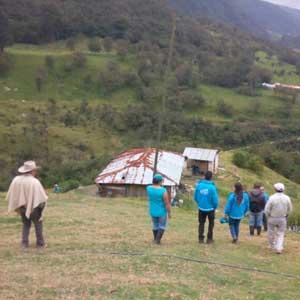 Sumapaz, territorio de intervención de la CVP